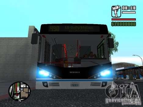 Design-X4-Dreamer для GTA San Andreas вид слева