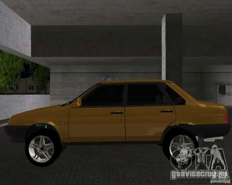 Ваз 21099 Light Tuned для GTA Vice City вид слева