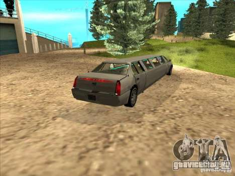 Cadillac DTS 2008 Limousine для GTA San Andreas вид слева