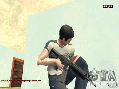 M4 HD для GTA San Andreas второй скриншот