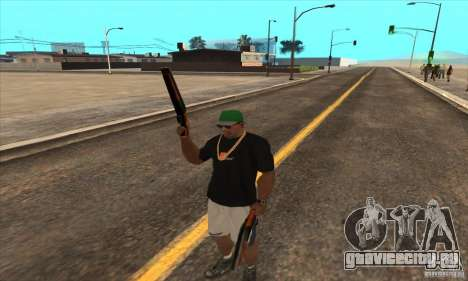 WEAPON BY SWORD для GTA San Andreas пятый скриншот