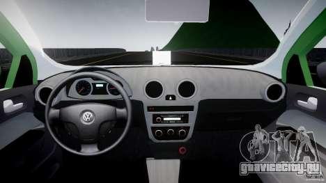 Volkswagen Gol Rallye 2012 v2.0 для GTA 4 вид справа