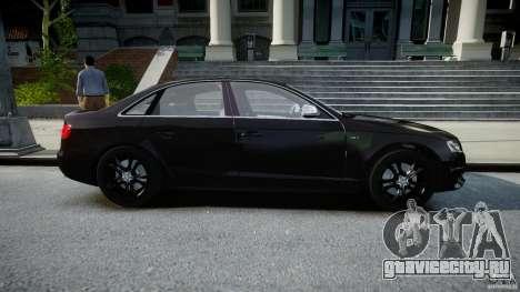Audi S4 Unmarked [ELS] для GTA 4 вид изнутри