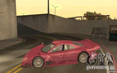 Mercedes-Benz CLK GTR road version (v2.0.0) для GTA San Andreas вид слева