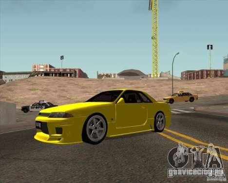 Nissan Skyline R32 Bee R для GTA San Andreas вид слева