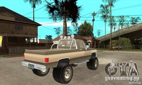 GMC Sierra Grande 1985 для GTA San Andreas вид справа