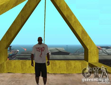 WWE футболка RKO для GTA San Andreas
