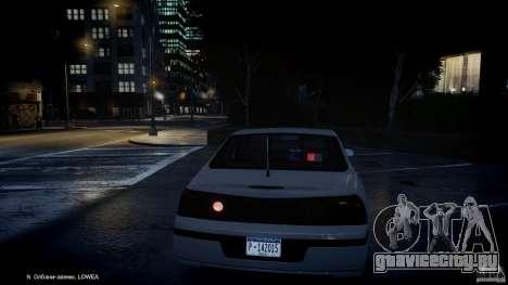 Chevrolet Impala Unmarked Police 2003 v1.0 [ELS] для GTA 4