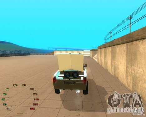 Газ Волга 2410 el Cabrio для GTA San Andreas вид справа