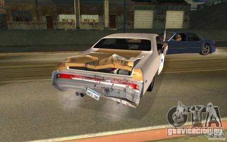 Chrysler 300 Hurst 1970 для GTA San Andreas вид сзади