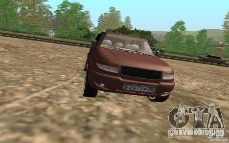 УАЗ Patriot для GTA San Andreas вид сбоку