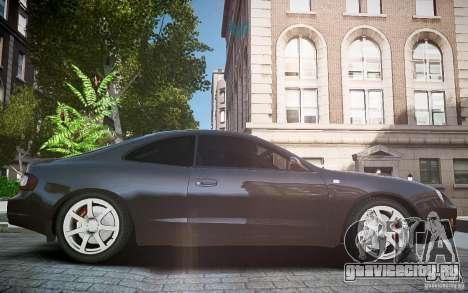 Toyota Celica GT-FOUR для GTA 4 вид изнутри