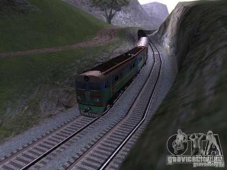 ВЛ8м-750 для GTA San Andreas вид слева
