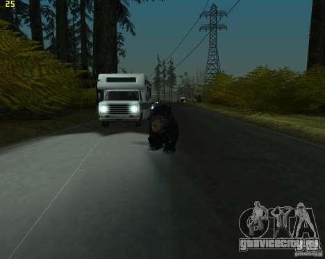 Медведь для GTA San Andreas второй скриншот