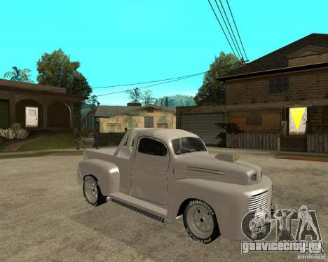 Ford F1 Pickup Hotrod 49 для GTA San Andreas вид справа