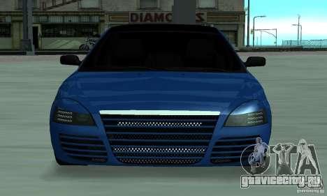 Lada Priora 2012 для GTA San Andreas вид слева