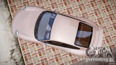 Porsche 911 (997) Turbo v1.0 для GTA 4 вид справа