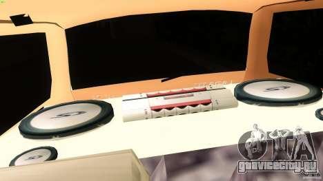 ВАЗ 2111 для GTA Vice City вид сзади