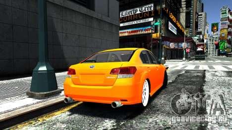 Subaru Legacy B4 для GTA 4 вид слева
