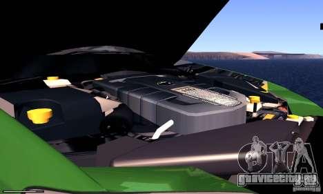 Subaru Legacy 2004 v1.0 для GTA San Andreas вид изнутри