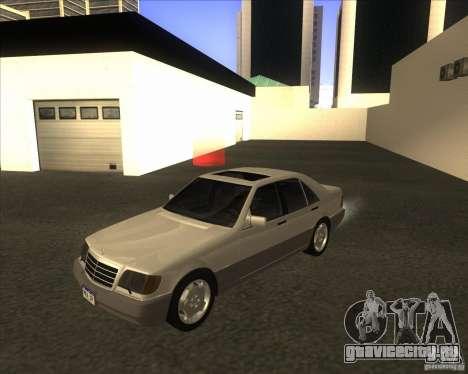 Mercedes Benz 400 SE W140 для GTA San Andreas