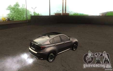 Bmw X6 M Lumma Tuning для GTA San Andreas вид справа