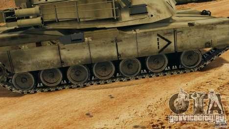 M1A2 Abrams для GTA 4 салон
