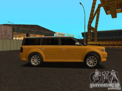 Ford Flex для GTA San Andreas вид сзади слева
