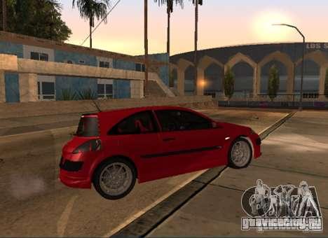 Renault Megane Sport Custom для GTA San Andreas вид слева