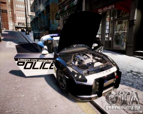 Nissan Spec GT-R Enforcer для GTA 4 вид справа