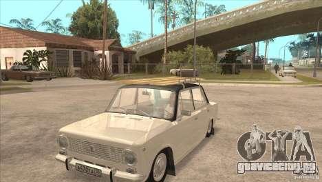 ВАЗ 2101 Dag для GTA San Andreas вид изнутри