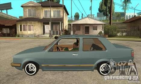 Volkswagen Jetta MKII VR6 для GTA San Andreas вид слева