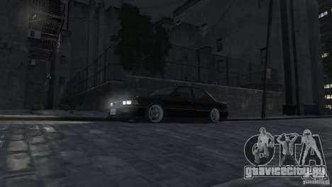 Mitsubishi Galant Stance для GTA 4 вид изнутри