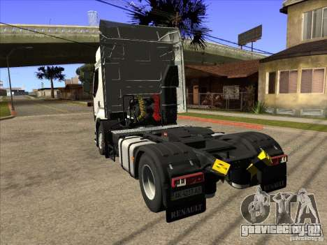 Renault Premium для GTA San Andreas вид слева