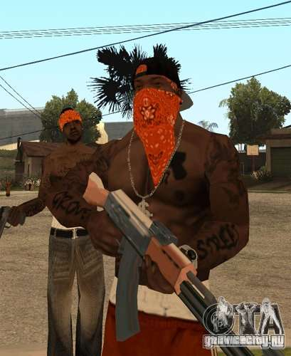 Замена банд, татуировок, одежды и т.п. для GTA San Andreas