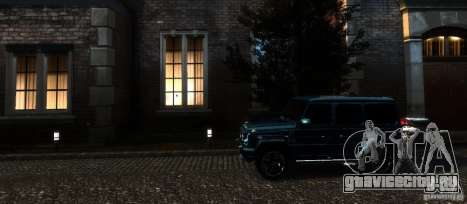 Mercedes-Benz G65 AMG [W463] 2012 для GTA 4 вид снизу