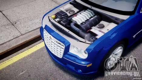 Chrysler 300C SRT8 Tuning для GTA 4 вид сзади