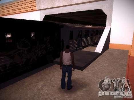 Поезд из GTA IV для GTA San Andreas вид сзади слева