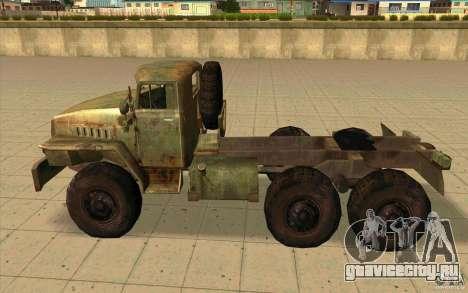 Урал-44202 для GTA San Andreas вид слева