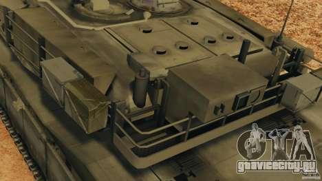 M1A2 Abrams для GTA 4 колёса