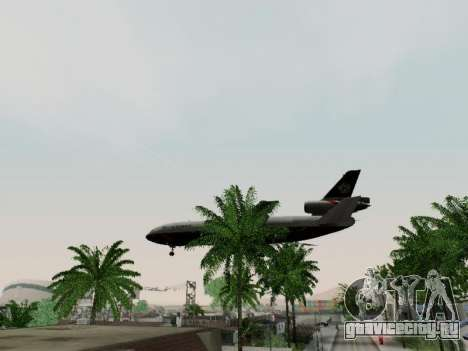 McDonell Douglas DC-10-30 British Airways для GTA San Andreas вид изнутри