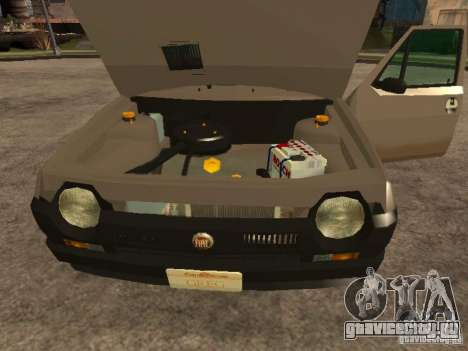 Fiat Ritmo для GTA San Andreas вид изнутри
