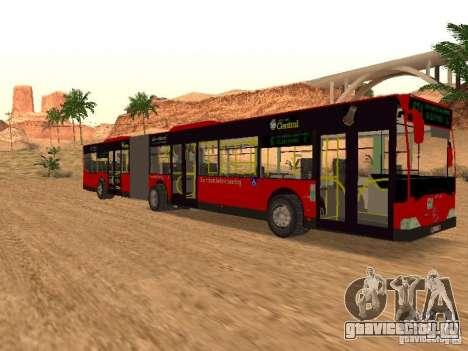 Mercedes-Benz Citaro G для GTA San Andreas вид справа