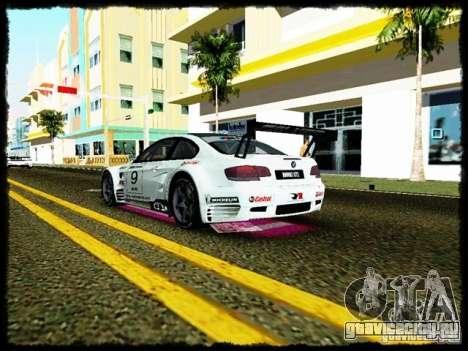 BMW M3 GT2 для GTA Vice City вид изнутри