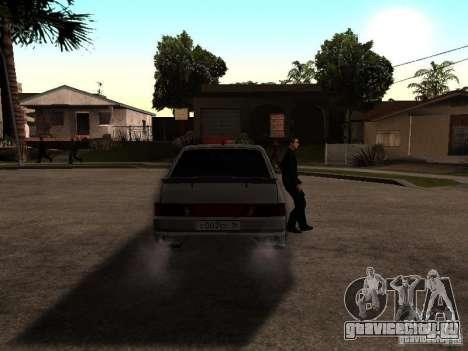 ВАЗ 2114 для GTA San Andreas вид сзади слева