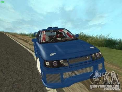 ВАЗ 2110 ADT Tuning для GTA San Andreas вид сзади