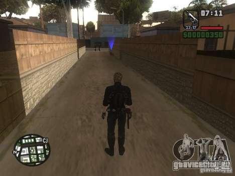 Wesker из RE5 для GTA San Andreas пятый скриншот