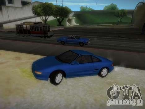 Toyota MR2 GT для GTA San Andreas вид слева