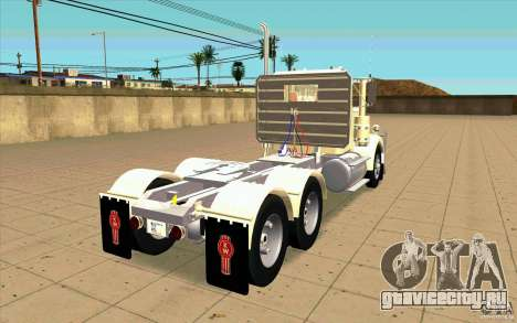 Kenworth W900 Heavy Hauler 1974 для GTA San Andreas вид сзади слева