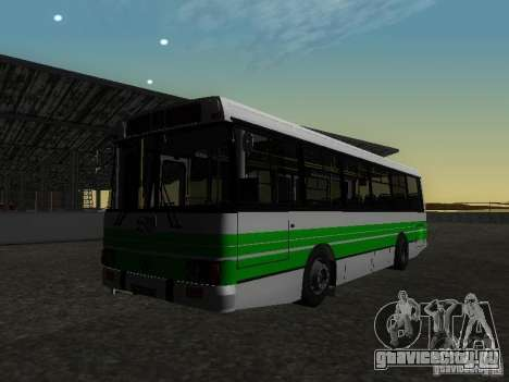 ЛАЗ 42021 КВР для GTA San Andreas вид сзади